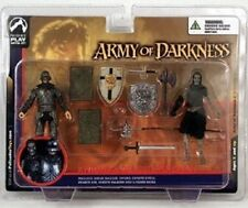 ARMY OF DARKNESS Knight & Deadite Pikeman action figure~Palisades~Evil Dead~MIB