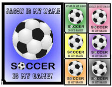 PERSONALIZED SOCCER MAGNET - GREAT STOCKING STUFFER