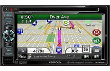 "Kenwood In Dash 6.1"" Car Video Monitor DVD Player w Garmin GPS Navigation System"