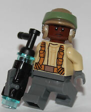 LEGO STAR WARS 1 RESISTANCE TROOPER mini figure from 75131 endor helmet brown h