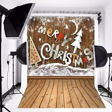 5x7FT Christmas Snow Backdrop Vinyl Studio Photography Prop For Photo Background