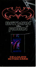 BATMAN AND ROBIN MOVIE WIDESCREEN CELLULOID CARD C-3