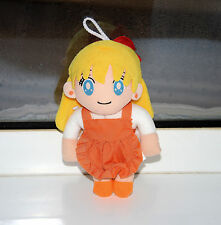 Sailor Venus Mina plush doll stuffed toy Japanese Sailor Moon Banpresto vintage