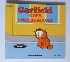 vintage garfield   garfield goes underground....BOOK BY JIM DAVIS