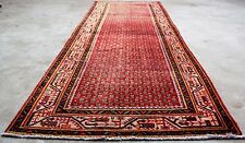 """Vintage Persian SARABAND MIR 4'.4""""X10'.4"""" Handknotted100%Wool Pile RugDS*764"""
