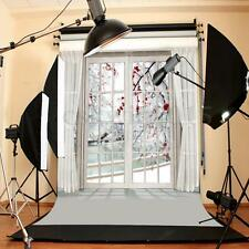 5x7FT Window Curtain Flower Studio Photography Backdrops Photo Background Props