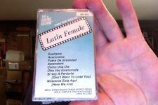 Singing Machine karaoke- HIts of Latin Female- new/sealed cassette tape