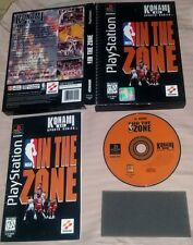 IN THE ZONE NBA - VERY RARE BOX - PlayStation 1 PS1 Gioco Game Play Station PSX