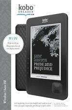 Kobo Ereader N289 Wireless Wifi 1GB 6in Black Ebook Pre-loaded Books Reader New