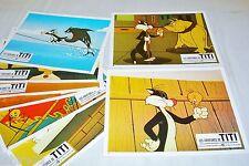 TITI ET GROSMINET  les aventures  ! jeu 8 photos cinema lobby cards  animation