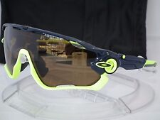 CUSTOM OAKLEY POLARIZED JAWBREAKER SUNGLASSES OO9290 NAVY RETINA BURN / TUNGSTEN
