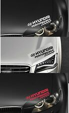 Para Hyundai-performance Faros cheques Coche Decal Sticker Adhesivo-I30