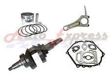HONDA GX340 GENERATOR ROLLER KIT WITH TAPERED CRANKSHAFT PISTON RINGS CON ROD