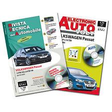 1Manuale tecnico riparazione/manutenzione+1Manuale Diagnosi Auto VW Passat