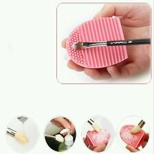Clean Makeup Cosmetic Brush Tool Quick Easy Girl Gift Foam Lather Silicone Scrub