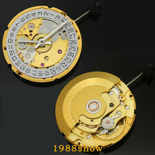 Gold Clone 2824 2824-2 Movement Automatic perlage Finish SWISS ETA Replacement