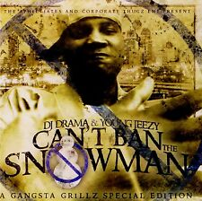YOUNG JEEZY Can't Ban The Snowman Mixtape CD New FREE SHIPPING