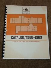 1966-1969 AMC Parts Catalog for Marlin,AMX,Javelin,Rebel,Ambassador,Rambler,MORE
