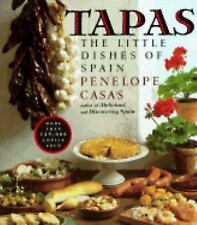 Tapas : The Little Dishes of Spain by Penelope Casas (1985, Paperback) Cookbook