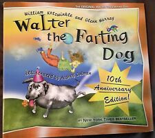 Walter the Farting Dog by Glenn Murray, William Kotzwinkle Hardcover dust cover