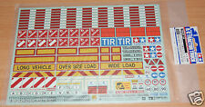 Tamiya 56534 Sticker Set for 1/14 Escala R/C Camión y remolque (Scania/Man/Actros)