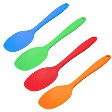 Kitchen Tool Utensil Cake Spatula Silicone Spoon One Piece Heat Resistant Home