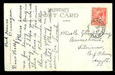 Scotland Inverness-shire Skye 1930 good DUNVEGAN postmark PPC Glen Sligachan