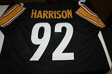 PITTSBURGH STEELERS #92 JAMES HARRISON CUSTOM JERSEY SB CHAMPION SIZE XXL