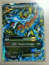 Lotto carte Pokemon MEGA M CHARIZARD EX 69/106 XY FUOCO INFERNALE FULL ART FA
