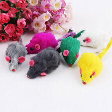 10Pcs/lot Creative Pet Cat Toys Fur False Mouse Kitten Cat Playing Toys