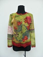 BLUE BLANC ROUGE Multi Color/Flower Prints Set (Top, Sleeveless Blouse, Scarf)