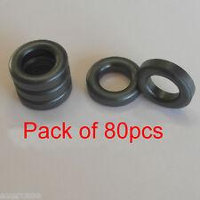 Toroid núcleo de ferrita, ferroso anillo de grano, EMI y RFI Filtro. Pack De 80pcs