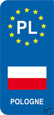 2 Stickers Europe POLOGNE