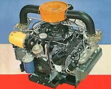 1960 Chevrolet Corvair Engine Photo Poster zua4610-JP8SIV