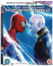 The Amazing Spider-Man 2 [Blu-ray 3D + Blu-ray] [2014] Andrew Garfield New