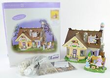 Department 56 2004 Snow Village Easter Chocolate Bunny Factory Two Piece 55355