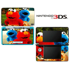 Vinyl Skin Decal Cover for Nintendo 3DS - Sesame Street Elmo Cookie Monster