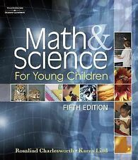 Math and Science for Young Children by Charlesworth, Rosalind
