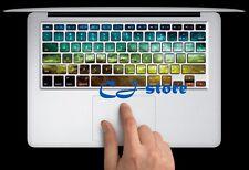 Nebula Macbook Keyboard Stickers Macbook Air / Pro Keyboard Decals Skin NBG
