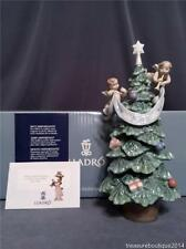 "~Mint in Box~Large 11.25"" Lladro ""Evergreen of Peace"" (8403) Christmas Tree"