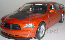 WELLY 18003W  2006 DODGE CHARGER DAYTONA R/T HEMI 1/18 COPPER