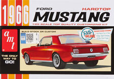 AMT 1966 Ford Mustang hardtop 1/25 plastic model car kit new 704