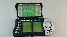 Excalibur Double Screen Talking Golf Experience Hand Held Game Excellent Works!