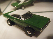 ThunderJet 68 Charger Metallic GREEN (Auto World) T -JET 500 HO SLOT CAR