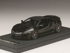 MARK43 PM4324SBK 1:43 Honda NSX Manufacturer Option Installed Car Black 2016