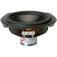 "Dayton Audio ND140-8 5-1/4"" Aluminum Cone Midbass Driver 8 O"