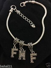 """FMF Anklet Swinger Lifestyle Jewelry"" Threesome Hotwife Fetish Stud Bull BBC 25"