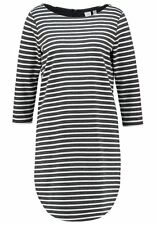 NWT Gap Boatneck shift dress, Grey Stripe SIZE S   #241163
