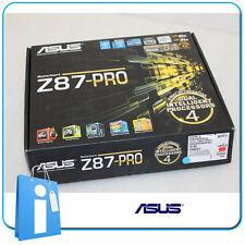 Placa base ATX Z87 ASUS Z87-PRO Socket 1150 con Accesorios