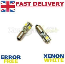 2x Canbus 5 LED Side Light Bulbs Mercedes Benz CLK A208 W208 C208 BAX9S